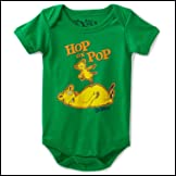 Dr Seuss Hop On Pop Baby Creeper Romper Snapsuit