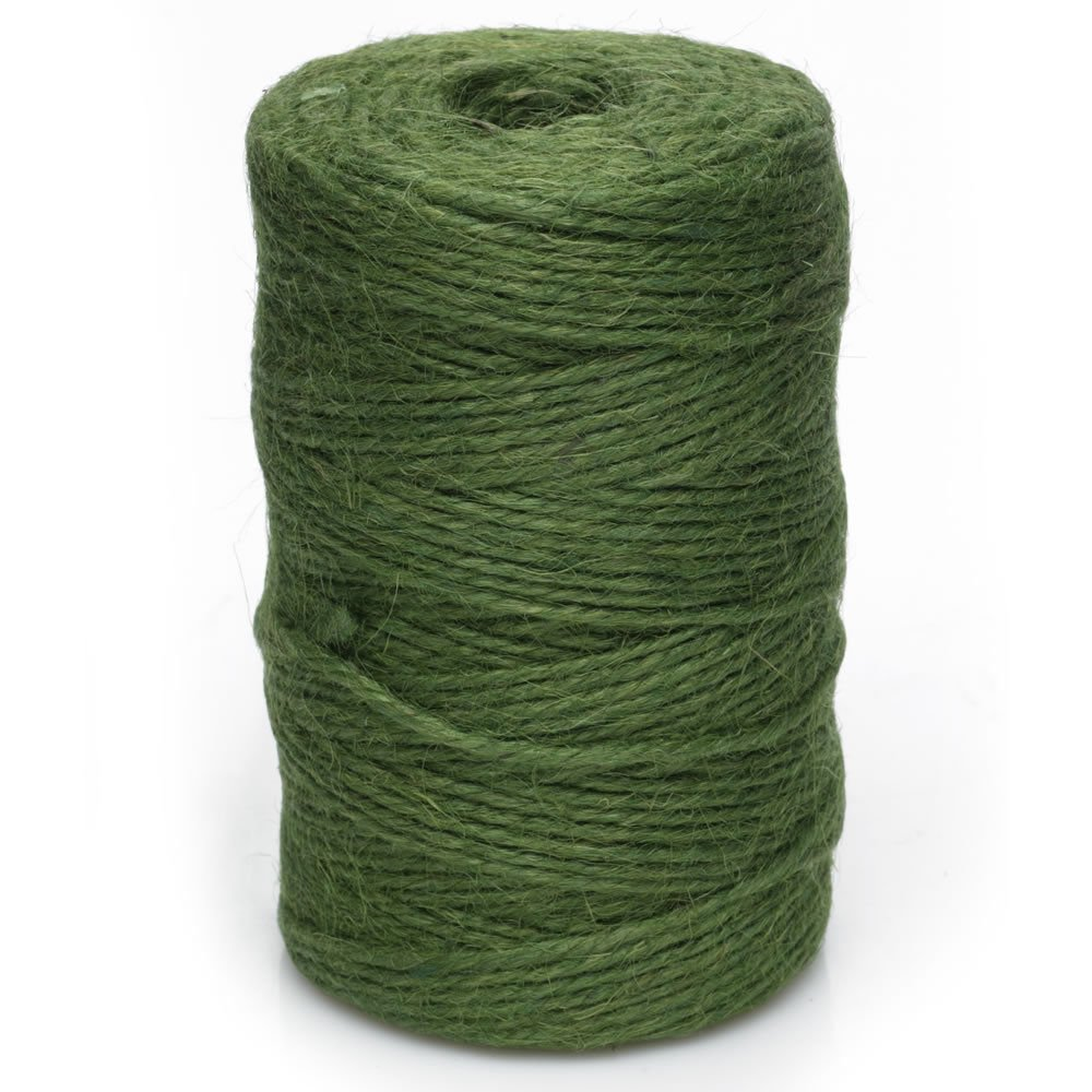 Green Jute Garden Twine - Horticultural Twine String - GJ60 (1, Green) Kendon Rope & Twine
