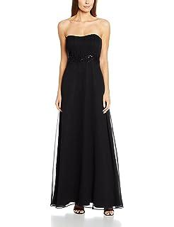 0066/4820 - Robe - Cocktail - uni - Sans manche - Femme - Bleu (Evening Blue 8339) - 34 (Taille fabricant: 32)Vera Mont