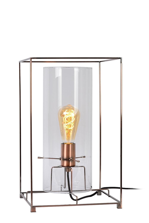 Copper Lucide JULOT Tischlampe, Metall, 60 W, Copper
