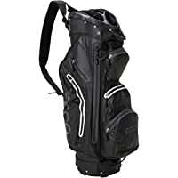 Ecco 2016 Cart Trolley Golf Bag Watertight - 14 Way Divider - 9 Pockets - Black