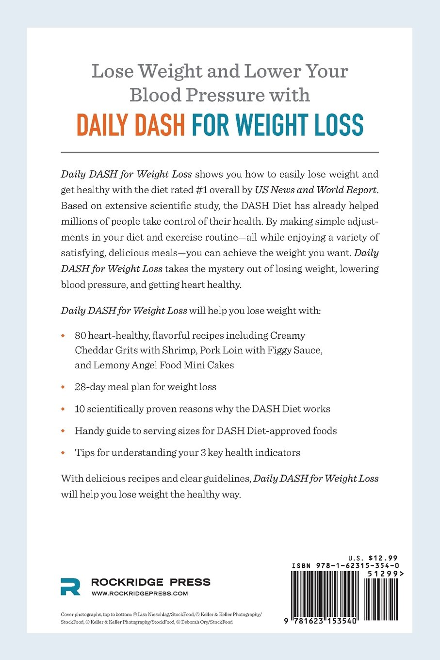 Daily dash for weight loss a day by day dash diet weight loss daily dash for weight loss a day by day dash diet weight loss plan rockridge press 9781623153540 amazon books geenschuldenfo Images