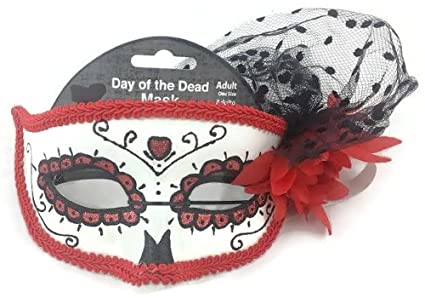 Day Of The Dead Dia De Los Muertos Adult One Size Mask