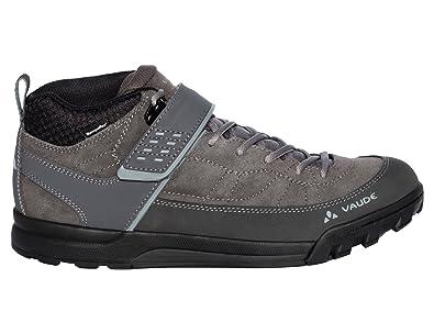 Vaude Unisex-Erwachsene Moab Mid STX AM Mountainbike Schuhe, Grau (Iron 844), 45 EU
