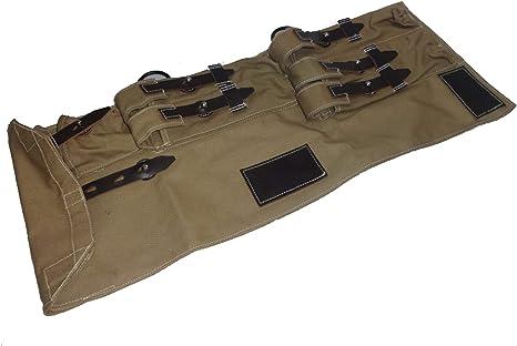 warreplica WWII alemán MP40 / MP40 subfusil Lona y Estuche de Cuero, MP40 Schmeisser Caqui: Amazon.es: Deportes y aire libre