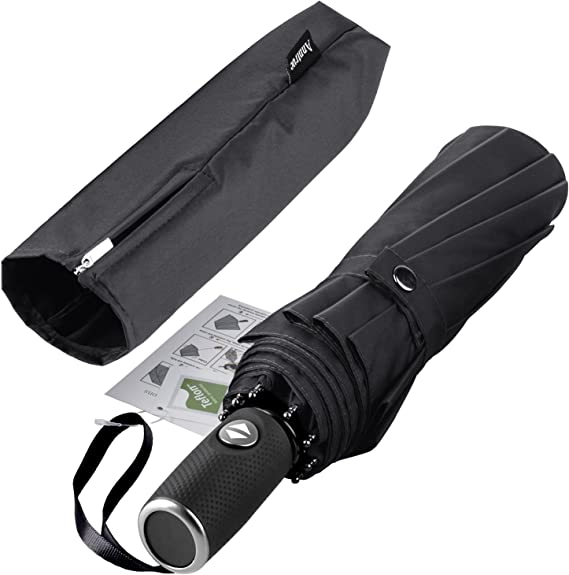Anntrue Windproof Travel Umbrella