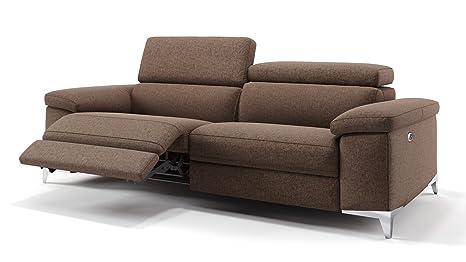 2er Sofa Mit Elektrischer Relaxfunktion - The Black And ...