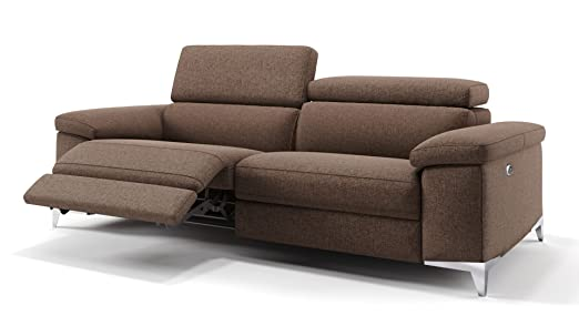 Stoff Sofa Sofagarnitur Relaxfunktion Relax Couch Funktionssofa