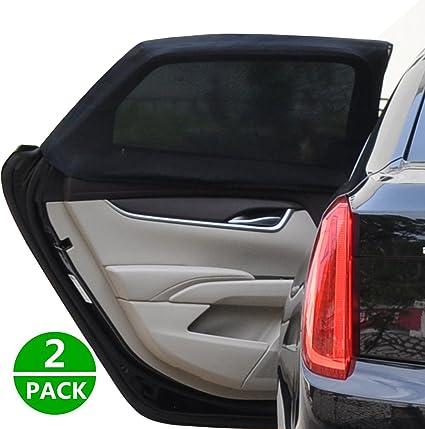Zoto Car Rear Window Sun Shade Premium Breathable Mesh Sun Shield Protect Baby//