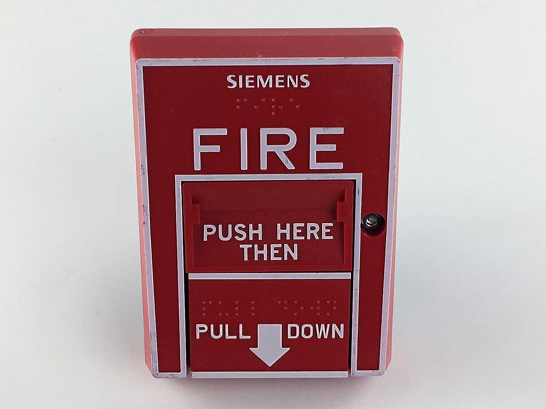 Siemens HMS-D Addressable Red Manual Pull Station Fire Alarm 500-033400