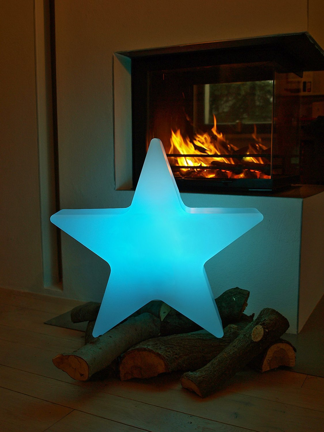 8 seasons design Shining Star Red 80 cm, lamp for outdoor use, E27 ...
