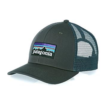 Patagonia P-6 Logo Trucker Casquette de pêche, homme Taille unique Forge  gris