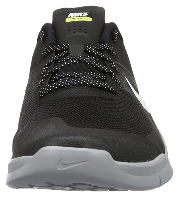 size 40 e5284 c91ed Amazon.com   Nike Mens Metcon 2 Training Shoes Track Black White Wolf Grey  819899-001 Size 11   Fashion Sneakers