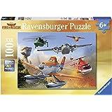 Ravensburger - 10537 - Puzzle Enfant Classique - Planes - Lutte Contre L'incendie - 100 Pièces XXL