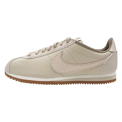 san francisco f698c d8c06 Nike Sportswear Classic Cortez Leather LUX Femme Baskets Mode Beige,  Pointure 43