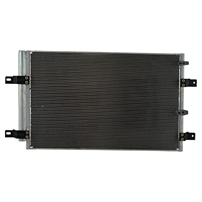 AC Condenser A/C Air Conditioning w/Receiver Drier for Ford Edge Lincoln MKX: Automotive