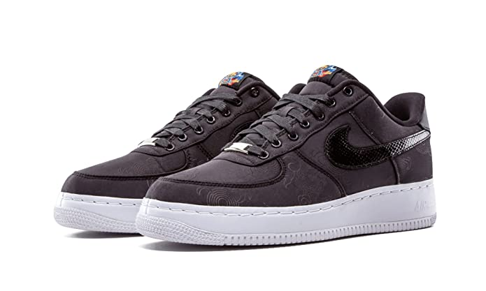 6463d39883 Amazon.com | Nike Air Force 1 Low Supreme Year Of The Dragon (516630-090)  (Mens US11) black | Fashion Sneakers