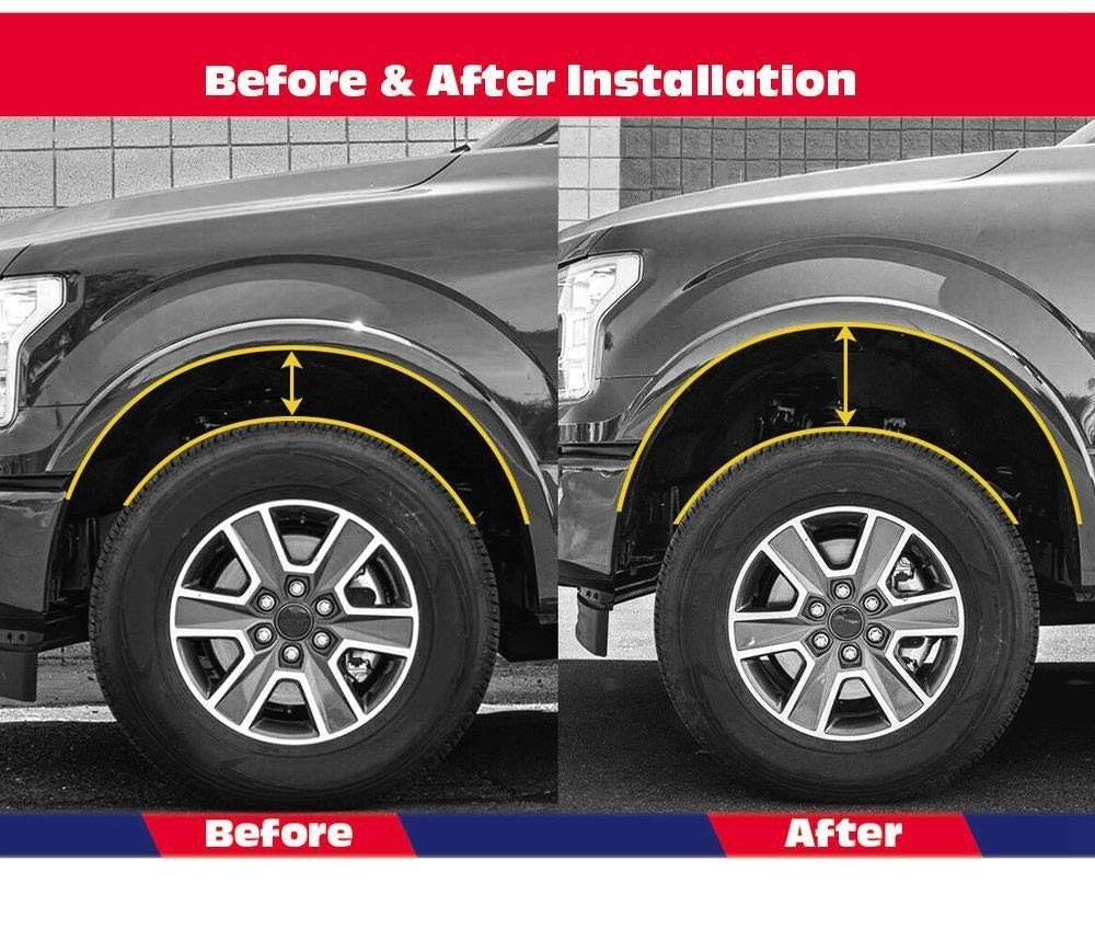 DONXIANFENG 1.5 2 rear Lift Kit Leveling Kit fit 2009-2018 Dodge Ram 1500 4WD 2WD Practical Accessory Size : 1.5 inch