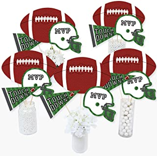 product image for End Zone - Football - Baby Shower or Birthday Party Centerpiece Sticks - Table Toppers - Set of 15