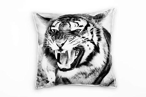 Paul Sinus Art Animales, Negro, Color Blanco, Tiger, Cerca ...