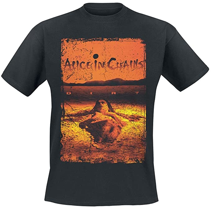 Vintage Alice Dirt Chains Camiseta Negro In EHY2b9IeWD