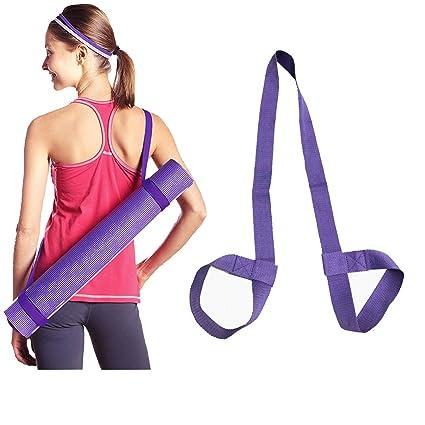 JJunLiM Yoga Mat Correa Ajustable Durable algodón Yoga Sling ...