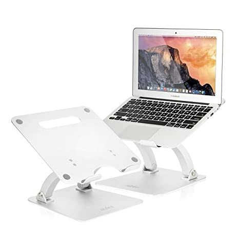 NIUBEE Soporte para tableta portátil, soporte de escritorio ajustable para Apple Macbook/Lenovo/