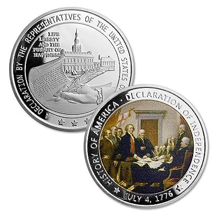amazon com challenge coin presidential 1776 us declaration of