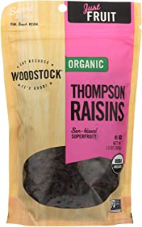 product image for Woodstock Farms Organic Thompson Raisin 13 Ounce (Pack of 8)