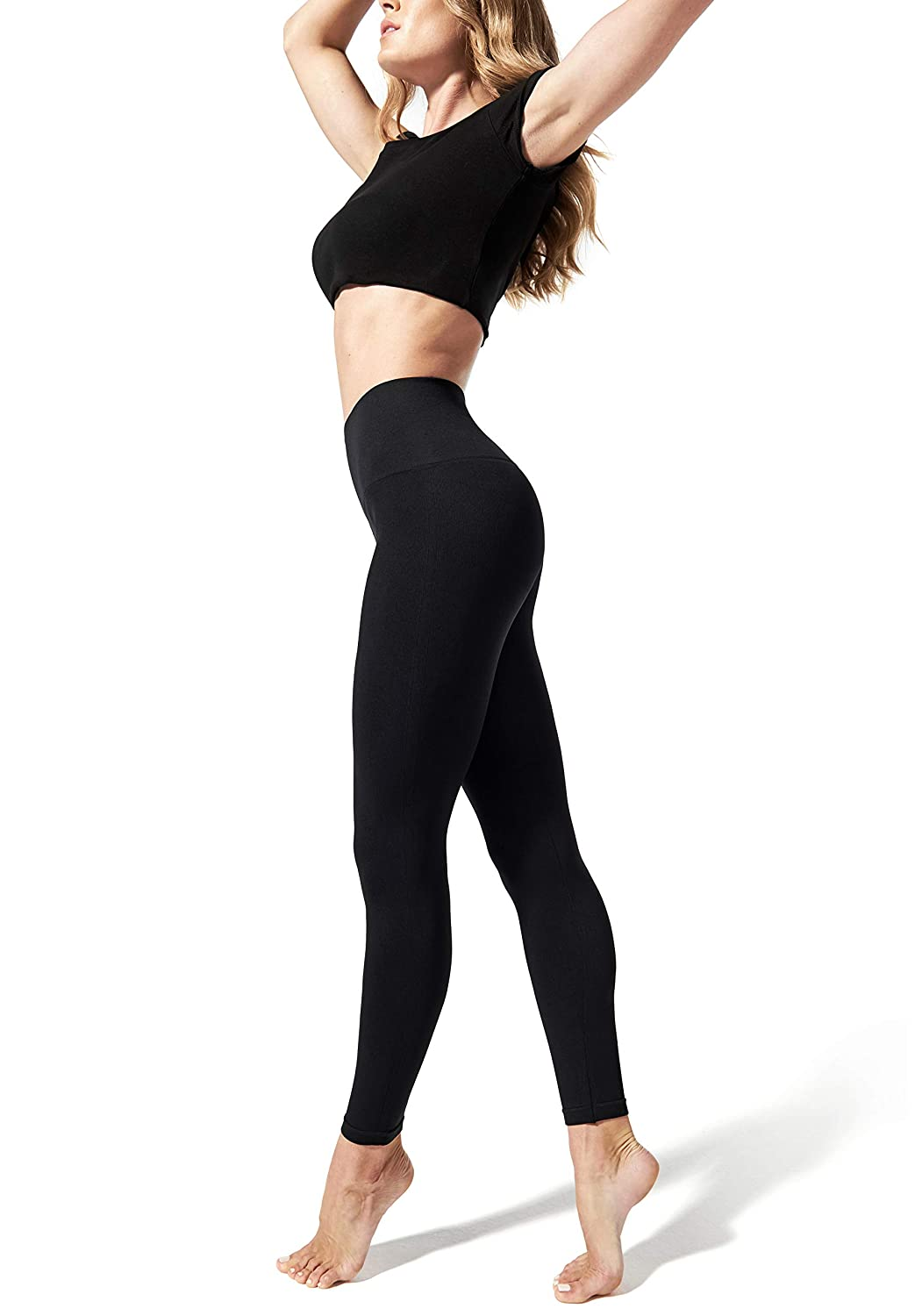 fb4623a7af87e BLANQI Everyday Hipster Support Leggings at Amazon Women's Clothing store: