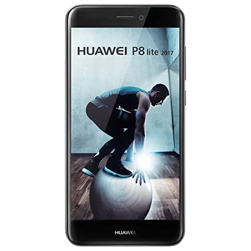 Huawei P8 Lite Smartphone libre de 5 2 IPS LCD 3 GB RAM 16 GB cámara 12 MP Android 7 0 Versión 2017 color negro