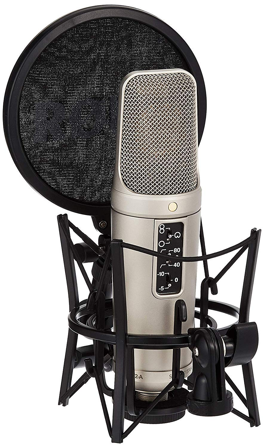 Rode NT2A Anniversary Vocal Multi-Pattern Dual Condenser Microphone Package by Rode