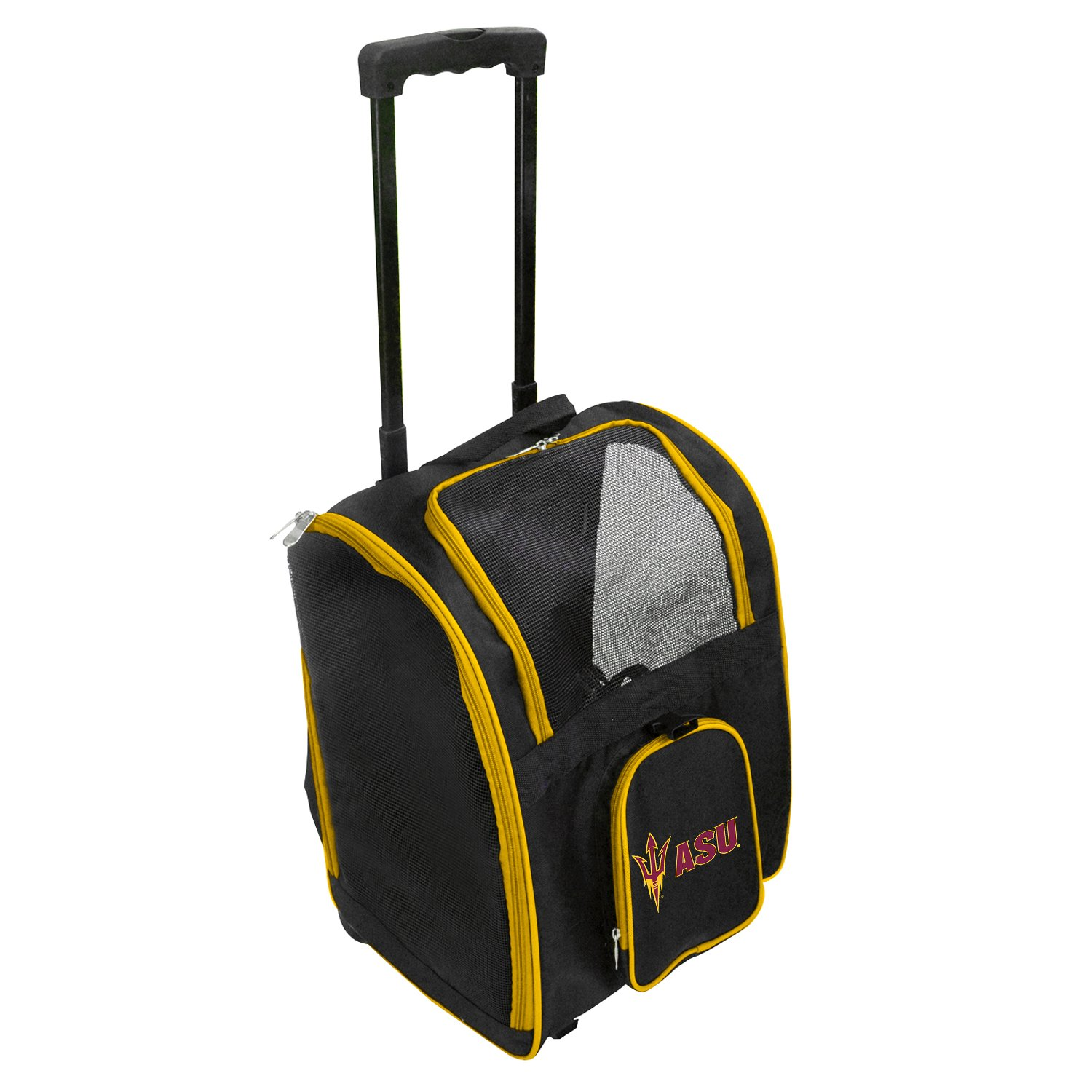 NCAA Arizona State Sun Devils Premium Wheeled Pet Carrier