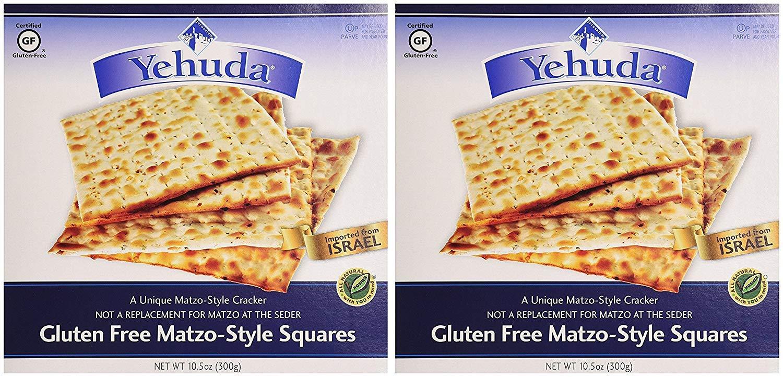 Yehuda Matzo Squares, Gluten Free, 10.5 oz