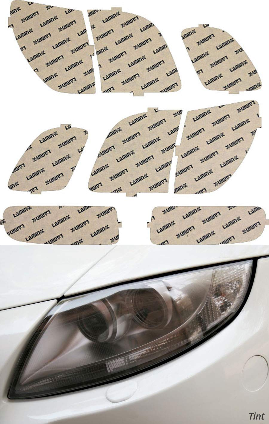 Lamin-x L007T Headlight Film Covers