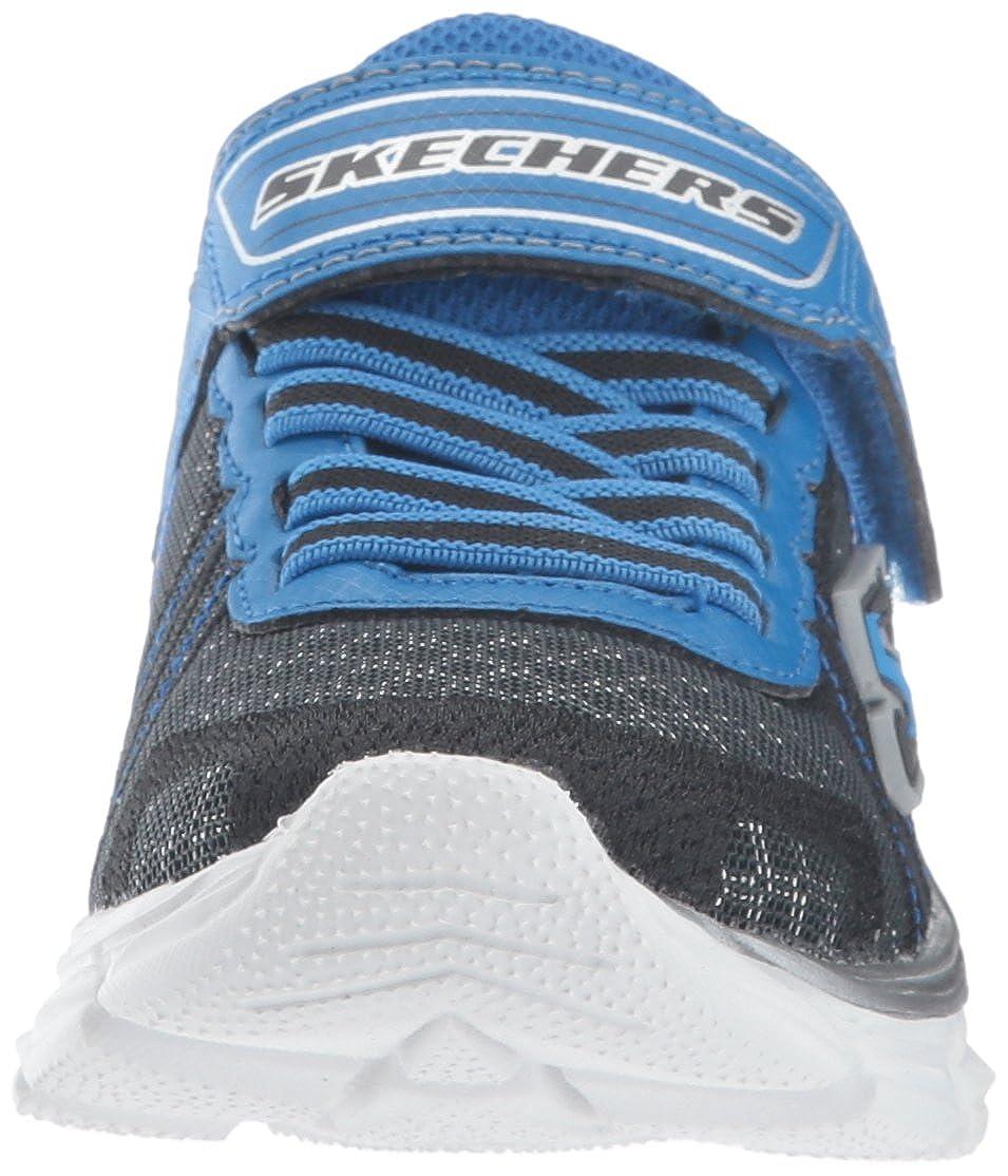 4 M US Big Kid Skechers Kids Boys Advance-Hyper Tread Sneaker Charcoal//Black