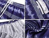 Unitop Men's Colortful Striped Swim Trunks