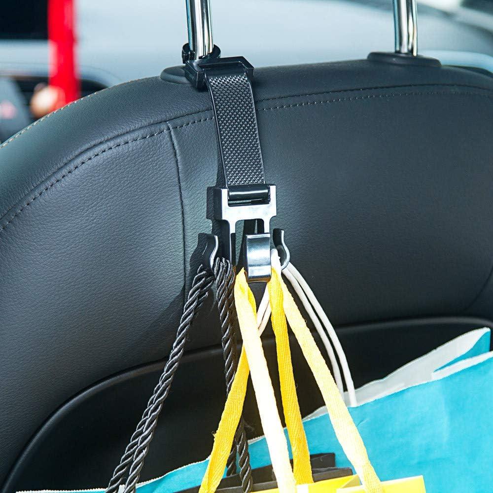 Handtasche Taschen-Halter Yagii 1 x tragbarer Autositz-Aufh/änger Auto Hecktr/äger Haken f/ür Kopfst/ütze