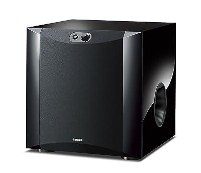Yamaha NS-SW300PN 20-160 Hz 250W Powered Subwoofer,Black
