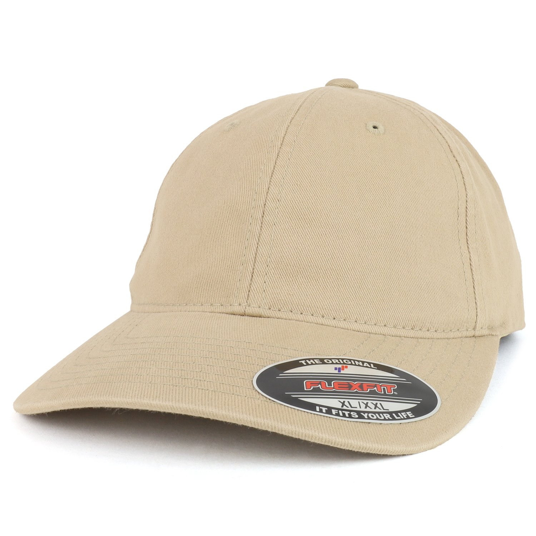 f7e5ee12c08 Armycrew flexfit size washed dad hat baseball cap khaki jpg 1500x1500 Xxl  flexfit