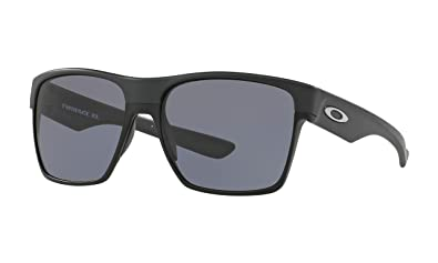 defcd320e3 Image Unavailable. Image not available for. Color  Oakley TwoFace XL  Sunglasses Steel with Grey ...