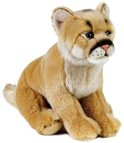 Amazon Com National Geographic Plush Mountain Lion Stuffed Animal