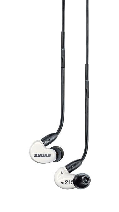 65 opinioni per Shure SE215M+-SPE-E Auricolari ad isolamento acustico di alta qualità, con