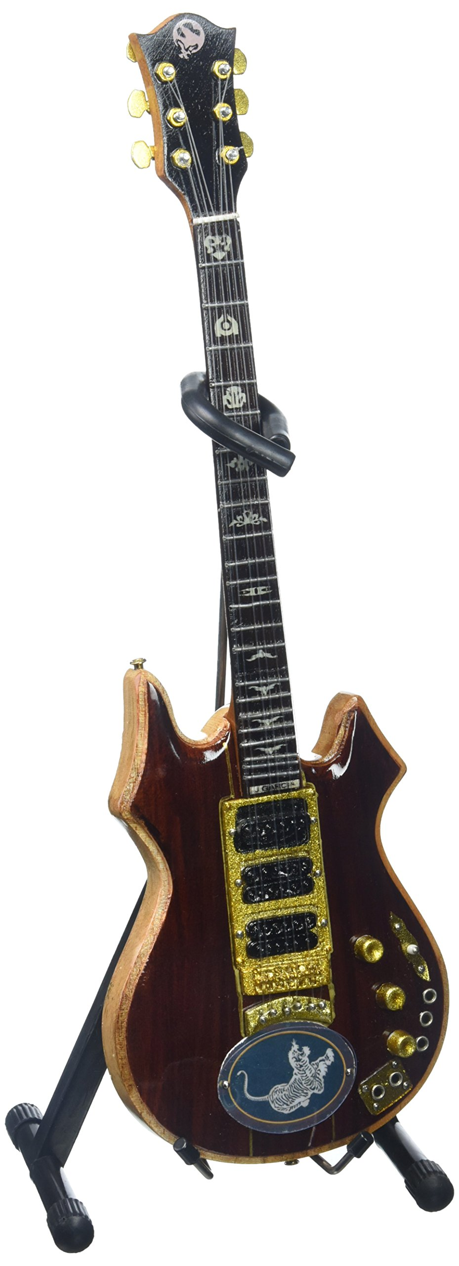 AXE HEAVEN JG-063 Jerry Garcia Signature Tiger Mini Guitar by AXE HEAVEN