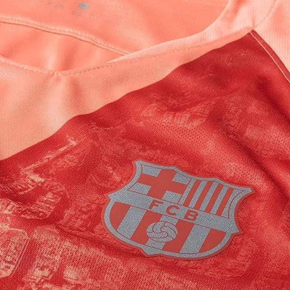 Nike FCB M Nk BRT Stad JSY SS 3r Camiseta, Hombre: Amazon.es: Deportes y aire libre