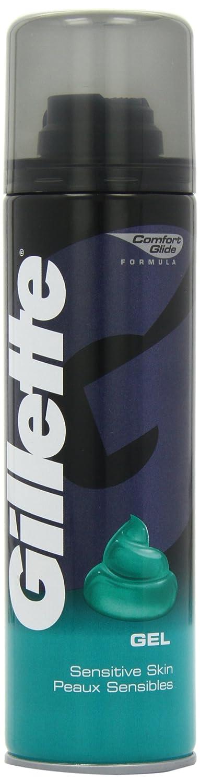 Gillette Classic 200 ml Sensitive Skin Shaving Gel (Pack of 2) Procter & Gamble 75062524