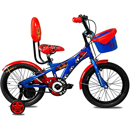 Buy Hero Disney 16t Marvel Ultimate Spiderman Junior Cycle With