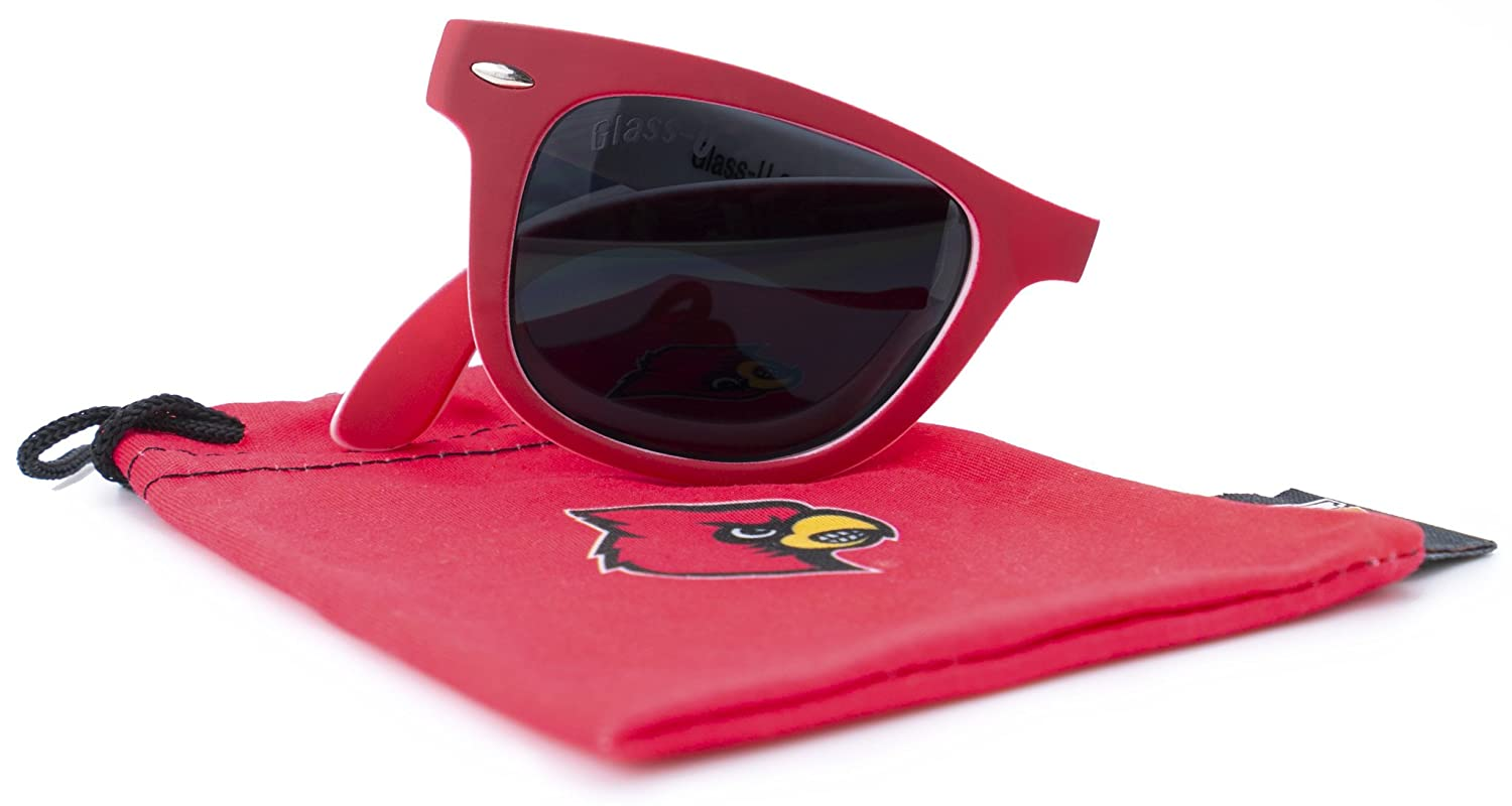 NCAA Game Day Sunglasses Fully Folding with Microfiber Pouch