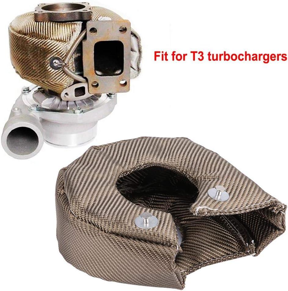Barri/ère de Protection Thermique Housse de Protection de Turbo Couverture de Protection de Turbo T3//T4 T3