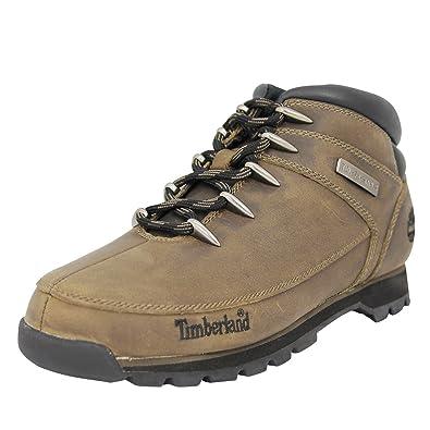 ade2f153da Timberland Euro Sprint Hiker Leder Herren Stiefel Schuhe Neu: Amazon ...